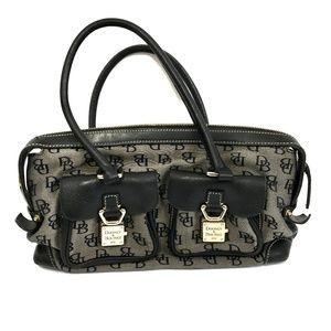DOONEY & BOURKE Signature Black Hobo Bag Satchel